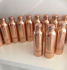 Pure copper water bottle, anti aging, weight loss and many health benefits !