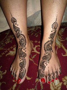P's bridal mehndi | by kenzilicious