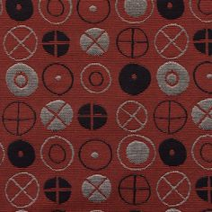 Maharam - Circles by Charles and Ray Eames , 1947 Textiles, Textile Prints, Textile Design, Textures Patterns, Fabric Patterns, Modern Decorative Accents, Jazz Art, Modern Pillows, Mid Century Modern Decor