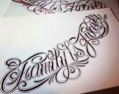 25 ideas for tattoo fonts script quotes words Hand Tattoos, Neue Tattoos, Body Art Tattoos, Tattoo Drawings, Sleeve Tattoos, Tattoo Lettering Fonts, Tattoo Script, Tattoo Quotes, Family First Tattoo