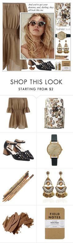 """""""Summer Date Night ♥"""" by av-anul ❤ liked on Polyvore featuring Topshop, Bobbi Brown Cosmetics, ASOS, topset, twinkledeals, summerdatenight and avanul"""