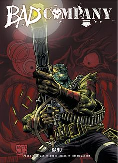 Bad Company: Kano. 2000AD #comics #2000ad