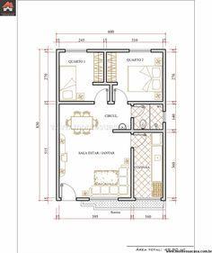 Projeto - Planta Casa Térrea 05