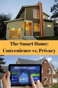 The Smart Home- Convenience vs. Privacy