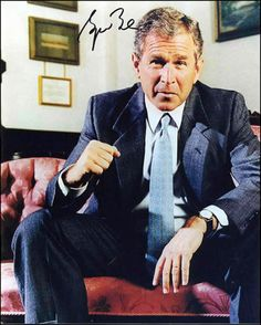 President George Bush this man actually made a difference.  Boy do I miss him in that big white house. He would never dream of disarming the people of the usa