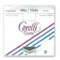 Corelli Crystal Viola A String by Crystal (Corelli). $5.40. Corelli Crystal Viola A StringAluminum wound on stabilon core