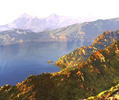 concept art Visual Development, Concept Art, Animation, Mountains, Nature, Travel, Conceptual Art, Naturaleza, Viajes