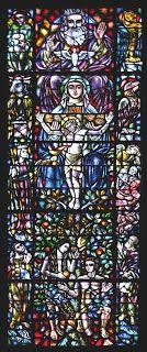 AAVD: Os vitrais da Capela do Seminário SVD de Fátima- Santissima Trindade