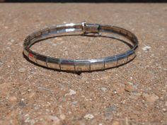 Milor Sterling Silver Panel Bangle Bracelet by Libbysmomsvintage