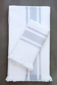 hand towels are temporarily sold out luxurious, soft, gentle, absorbent and very french, these towels feature hemmed long sides and eyelash-fringed short sides. best of all, the blockrib, flat weave t