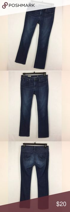 "AG Adriano Goldschmied 29 The Ballad Slim Boot AG Adriano Goldschmied 29 The Ballad Slim Boot Dark Blue Jeans Wash Women's. Excellent condition. Smoke free home. Actual Waist Measurement - 32"" Hips Measurement - 38"" Rise measurement - 7.5"" Inseam measurement - 33"" Ag Adriano Goldschmied Jeans Boot Cut"