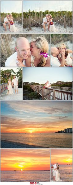 10 year vow renewal ideas at Lover's Key | Let us help you plan YOUR Vow Renewal www.PerfectDayWeddingPlanners.com