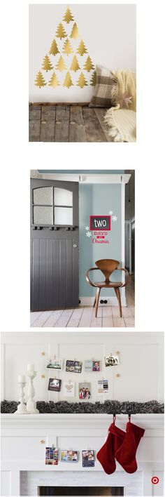 Shop Target for wall decal you will love at great low prices. Free shipping on orders of $35+ or free same-day pick-up in store. Merry Christmas Santa, Christmas Love, Christmas Photos, All Things Christmas, Christmas Trees, Christmas Ornaments, Christmas Bedroom, Holiday Fun, Holiday Decor