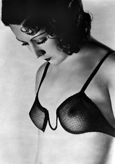 1930. This fabulously delicate brassiere by Ferrero in 1930 could be a contemporary offering from Agent Provocateur or Myla.