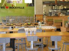 Whole Foods Rockville seating area
