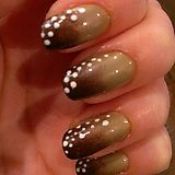 Baby deer inspired nails! - Imgur
