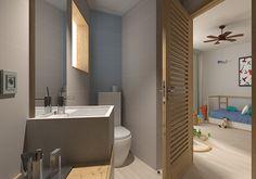 Banheiro - #ceramicaportinari. Bathrooms - Baños, banho, banheiro.
