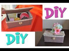 DIY - Reciclaje Caja de Jugo