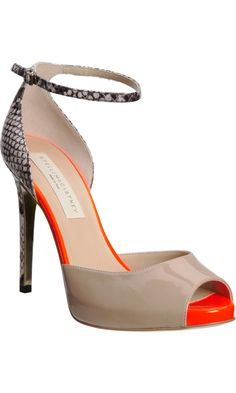 Stella McCartney Faux Python Pump.  These heels would make any outfit sexy!