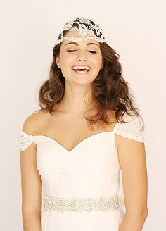 Handmade crystal embellished cap sleeves dress. A line . Sweetheart neckline. Only been use once for a short designer photo session  Size 4 34 Bust 25 waist  Excellent condition/Cleaned  Bridal sashes, headpiece and veil is not included with the dress. .  Please email us if you have any questions. .