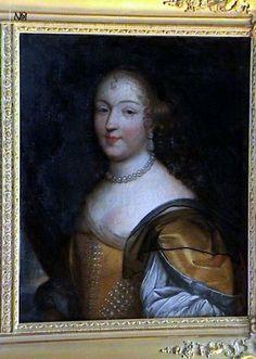 La Marquise de Montglas, née Cécile Elisabeth Hurault de Cheverny (1618-1685).