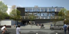 Galería - Ganadores Concurso Edificio Docente y de Investigación Escuela de Arquitectura UC - 32
