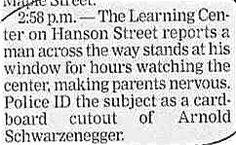 That'd make me nervous, too.