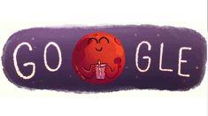 Google celebra con un Doodle el hallazgo de agua en Marte | Excélsior