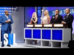 Larry David brings Bernie Sanders back to 'SNL' in a Trump campaign showdown Margot Robbie Snl, Celebrity Feuds, Political Satire Cartoons, Snl News, Snl Skits, Larry David, Chris Christie, Kate Mckinnon, World Cultures
