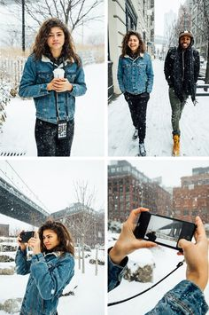 Cali Girl's Snow Day | #Zendaya: The App