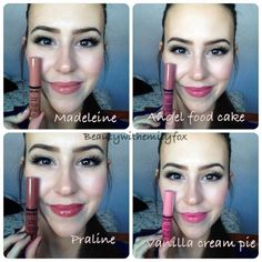 NYX BUTTER GLOSSES LOVING angel food cake and praline...