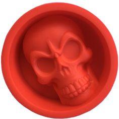 Silicone Skull Ice and Muffin Cake Mold //Price: $12.69 & FREE Shipping //     #skull #skullinspiration #skullobsession #skulls