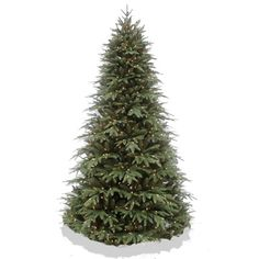 Our 7.5' artifical pre-lit Christmas tree with remote allows you to choose from either multi color or warm white lights and 7 different functions. This tree has realistic looking branches and includes 4486 tips and 700 LED lights.