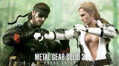 Hong Kong-based collectible company Hot Toys makes some gorgeous action figures, but none have impressed me as much as the recently-revealed sneaking suit Naked Snake and The Boss from Metal Gear Solid 3: Snake Eater, and it's not just the gruesome chest scars.