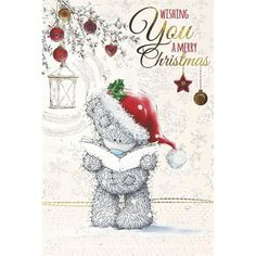 Tatty Teddy Reading Carols Me to You Bear