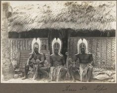 Torres Straits types [three men wearing head dresses sitting outside hut] [picture] 1921 Aboriginal Culture, Aboriginal People, Indigenous Education, Theory Of Evolution, Out Of Africa, Solomon Islands, Great Barrier Reef, Papua New Guinea, Tribal Art