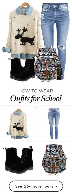 """Christmas Holidays Dinner"" by myfriendshop on Polyvore featuring H&M and Dr. Martens"