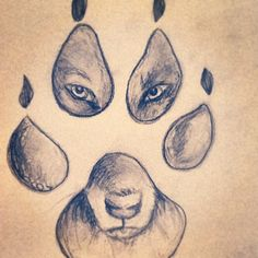 Love wolf drawings