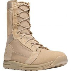 """50131 Danner Men's Tachyon 8"""" Leather Uniform Boots - Tan www.bootbay.com"""