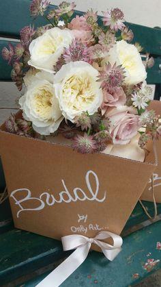 Bridal bouquet. Wedding Tuscany. Castello di Meleto. @kat