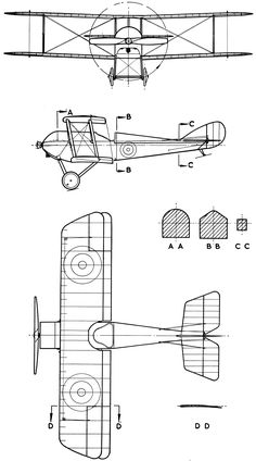 Bristol m1c bullet blueprint poster pinterest bristol bullet martinsyde s1 blueprint malvernweather Image collections