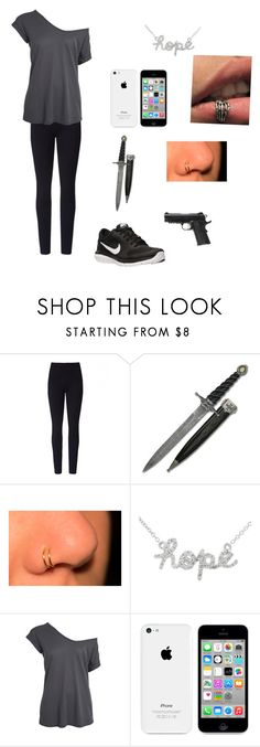 """""""Untitled #64"""" by chloe950 ❤ liked on Polyvore featuring Lyssé Leggings, Caliber, Sydney Evan and NIKE"""