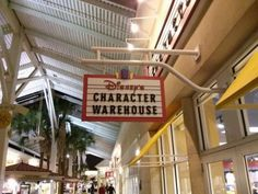 Have you ever seen something at Disney World you wanted, but passed on it because of the cost? Or what about when you were ready to buy it you find that it is no longer available? Well, you might just find it at Disney's Character Warehouse.