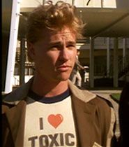 Real Genius. Val Kilmer was so cute. Sadly he didn't age well, nor did he live with fame gracefully. It's sad.