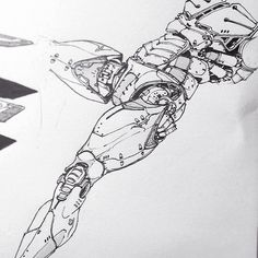 Here are a couple of sketches I did over the past months. Bionic Arms and robotics. ~ EDONGURAZIU