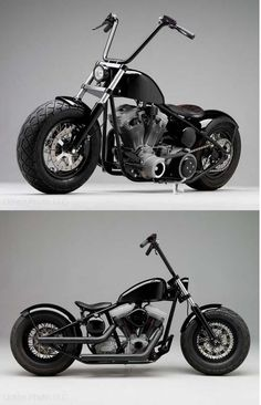 Hell Ride Chopper by Russell Mitchell of Exile Cycles in California Bobber #motorcycles #bobber #motos | caferacerpasion.com