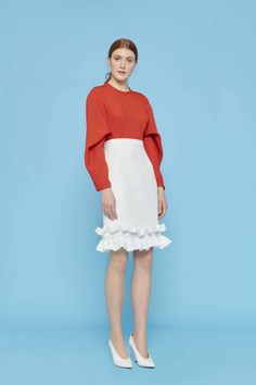 Edeline Lee Resort 2019 Fashion Show Collection: See the complete Edeline Lee Resort 2019 collection. Look 20 Fashion Runway Show, Fashion Show Collection, Trendy Fashion, High Fashion, Womens Fashion, Fashion Trends, Cheap Fashion, Fashion 2017, Skirt Fashion