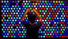 Ever Bright - the Giant Lite Brite Reimagined Peg Wall, Lite Brite, Reading Nook, Wall Signs, Rainbow Colors, Neon Signs, Central Library, Maker Space, Family Therapy