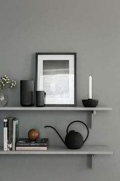 A cocoonlike Swedish home in dark grey is part of Scandinavian Home Accessories Interiors - It was a while since we headed over to the dark side here on My Scandinavian Home And with Autumn in the air, and the need for a warm, coc Home Interior Design, Interior Styling, Interior Decorating, Decorating Ideas, Kitchen Interior, Interior Shop, Interior Livingroom, Interior Plants, Gray Interior