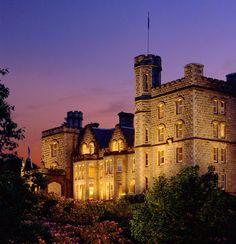 logeren in een kasteel in Schotland
